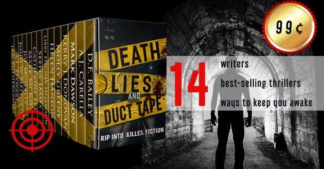 death, lies, and duct tape. box set of thrillers for 99 ¢, Mark dawson.