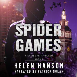 Spider Games, terrorism thrillers, fbi thrillers, technothrillers, psychological thriller, drone wars, police procedural, terrorist thrillers, audiobook, audible, itunes