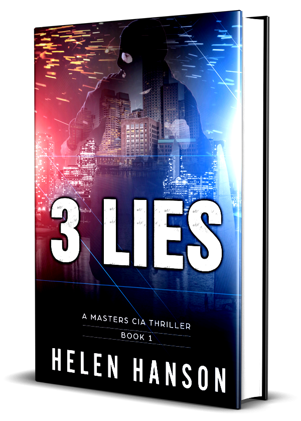 3 Lies, # 1 bestseller, technothriller, cia, masters series, kidnapping, supreme court, clint masters, boston, terrorist, hacker, espionage, spy thriller