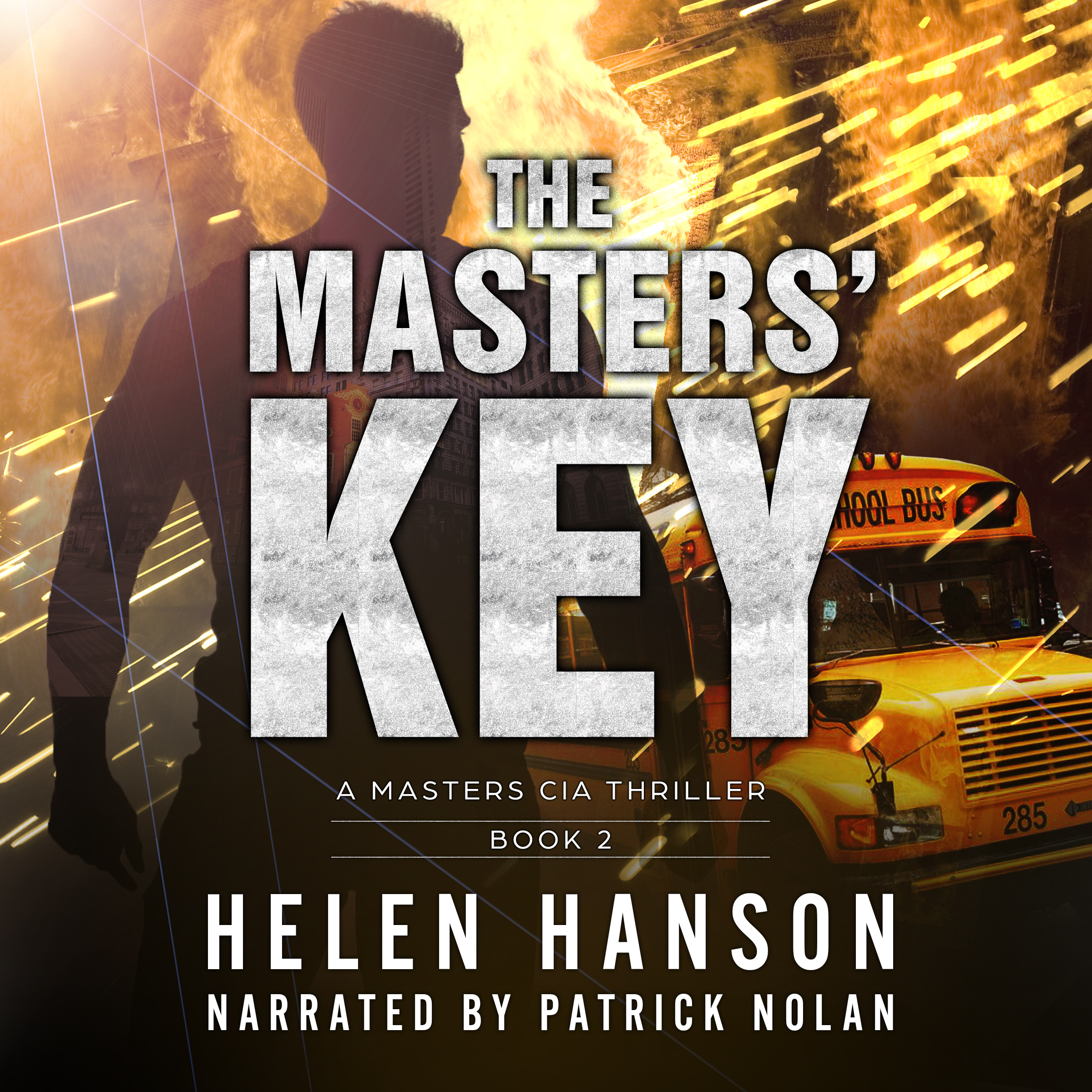 the masters' key, hackers, thriller series, cia thrillers, spy novels, terrorism thrillers, espionage and spy thrillers, technothrillers, clint masters, audiobook, audible, itunes